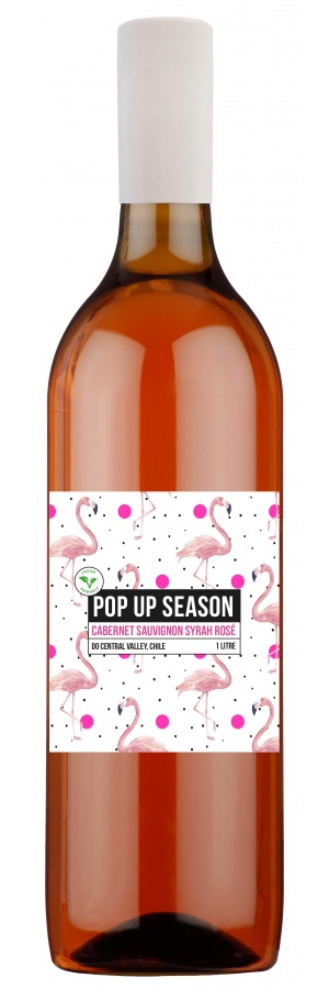 Pop Up Season Cabernet Sauvignon Syrah Rosé 1L PET