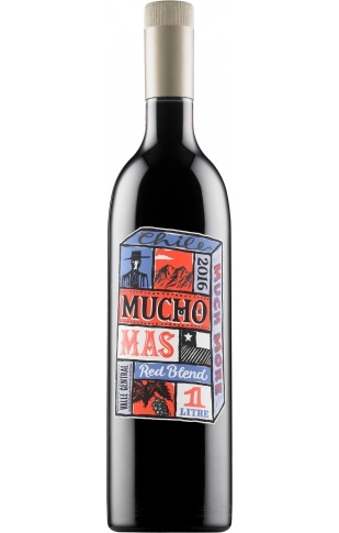 Mucho Mas Red Blend 1L PET