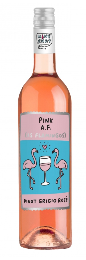 Wine Chat Pink A.F.